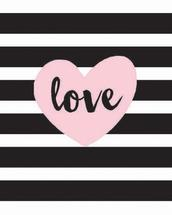 Black and White Striped... by Patina Creative