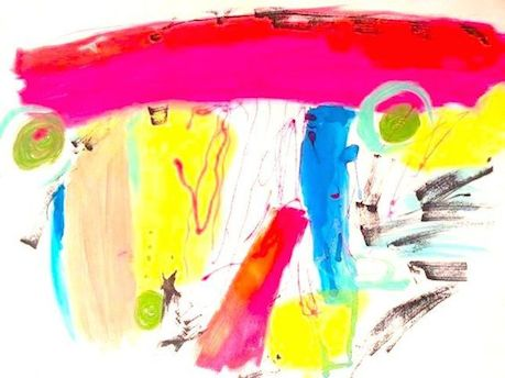 art prints - Fun with Color by Linda Schoff