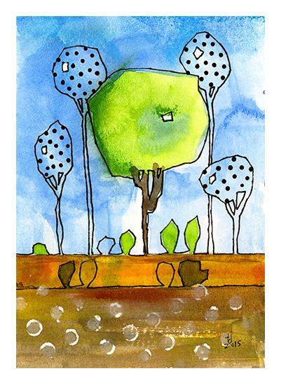 art prints - Parkish 1 by Tonya Doughty