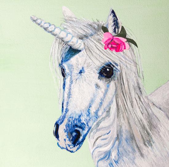 art prints - Dreamer's Unicorn by Megan Carty