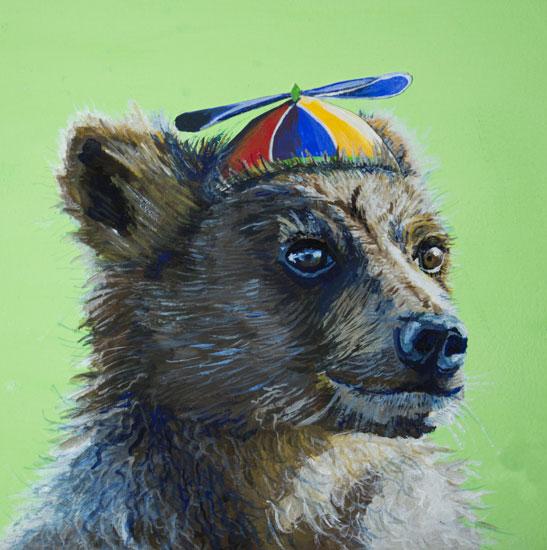 art prints - Whirly-Bear by Megan Carty