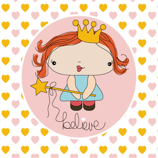 art prints - Pretty Princess by Shelley Seguinot