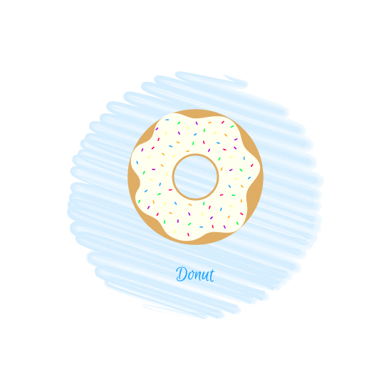 art prints - Donut by Mindy Levin