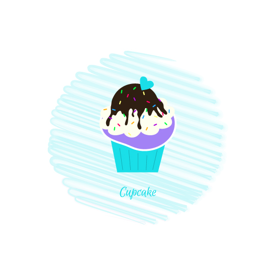 art prints - Cupcake by Mindy Levin