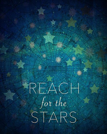 art prints - Reach For The Stars by Sandra Arduini