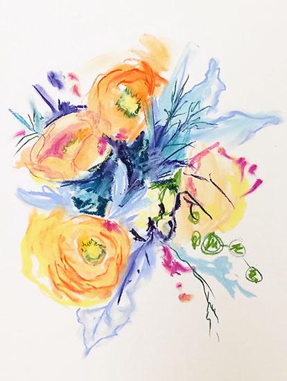 art prints - A bouquet for Always by Sarah Nobles