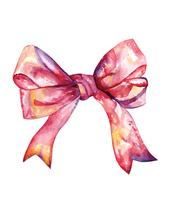 a pink bow by michaelandaubrey