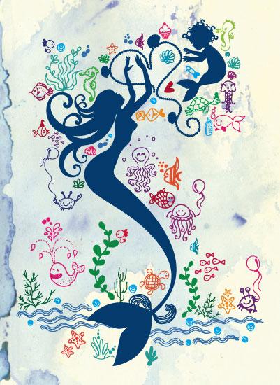 art prints - Ocean Of Treasures by Pooja Thacker