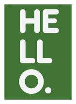 HELLO by Annabel Linquist