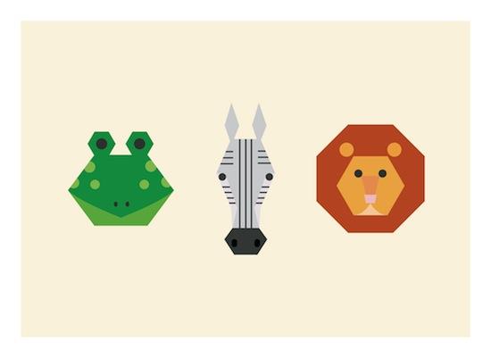 art prints - Animal Geometry by Designerly