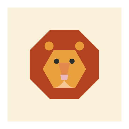 art prints - Little Lion by Designerly