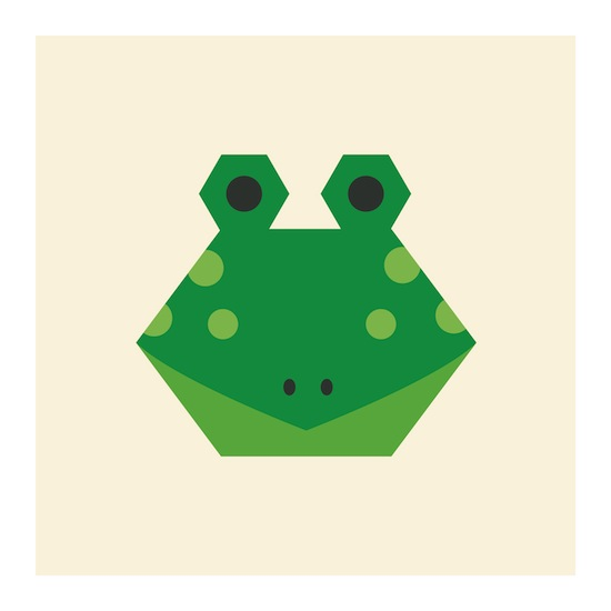 art prints - Little Frog by Designerly