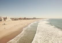 Santa Monica Beach by Catherine McDonald