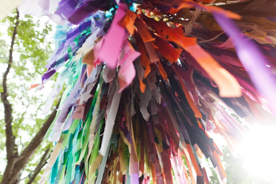 art prints - streamers up-close by Kelly Christine