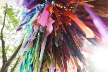 streamers up-close by Kelly Christine