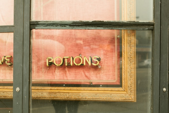 art prints - potions by Kelly Christine