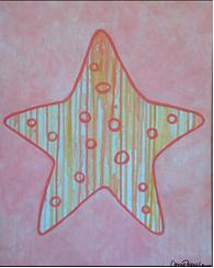 art prints - Drip Sea Star by Carrie Fiorella