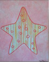 Drip Sea Star by Carrie Fiorella