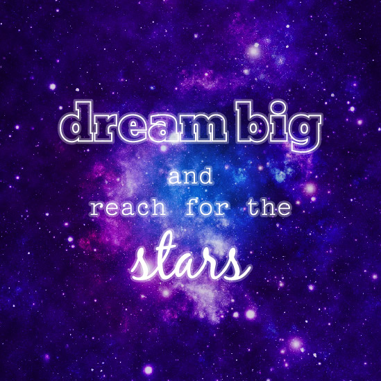 art prints - Dream Big by Mindy Levin