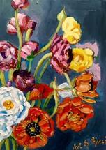 Rainbow Bouquet by Piyali Samant