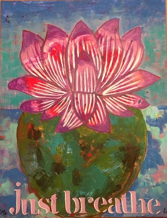 art prints - just breathe by Carrie Fiorella