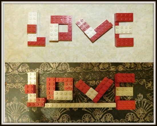 art prints - Lego Love by Deborah McClain