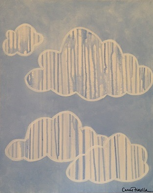 art prints - Drip Clouds by Carrie Fiorella