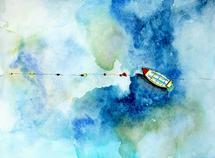 Floating by Amanda Sullivan