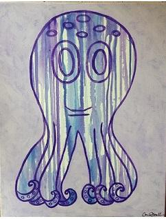 Drip Octopus