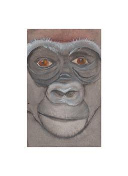 Safari Faces - Gorilla
