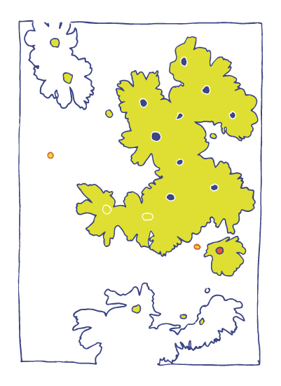 art prints - Bright Daisies by Jessie G