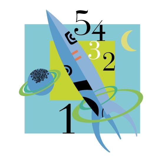 art prints - 5-4-3-2-1 by Marjie Best