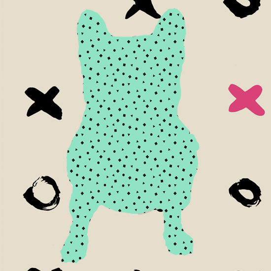art prints - FrenchBulldogxoxo by Eileen Tomson