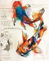 Koi Fish by Robyn Briggs