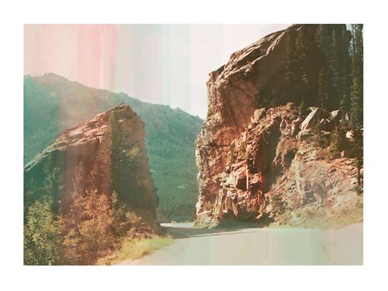 art prints - ombre hills by Alison Jerry Designs