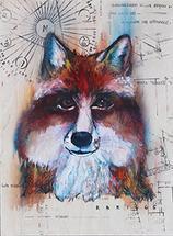 Colorful Fox by Robyn Briggs