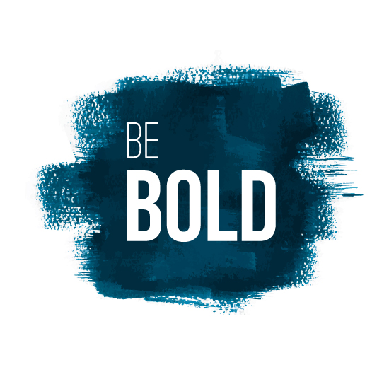 art prints - Be Bold by Kacey Kendrick Wagner