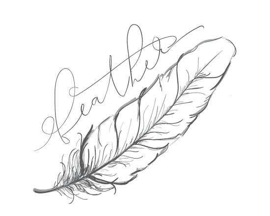 art prints - The Feather by Lindsey Hohman