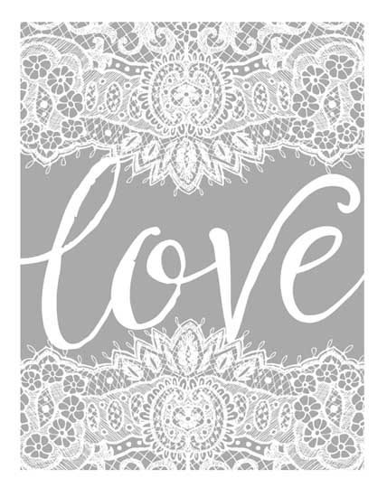 art prints - Love Lace by Lori Lay