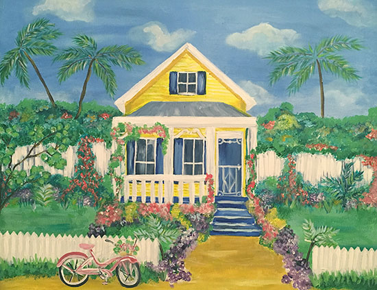 art prints - Key West Charm by Brandy Kesl l ABK design