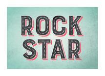 Rock Star by Ever Upward Studio