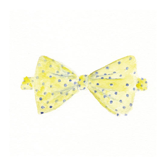 art prints - Hair Bow or Bow Tie? by Julie and Sara