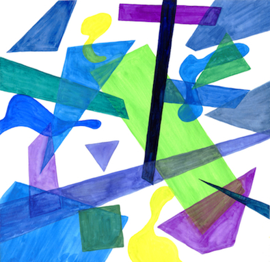 art prints - Cool Shapes by Alicia Aswat