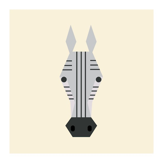 art prints - Little Zebra by Designerly