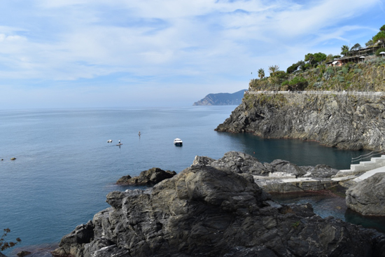 art prints - Cinque Terre Italy coastline by Beth Scanlon