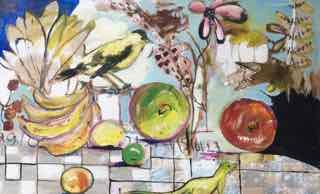 art prints - A Rolling Stone Gathers no Moss by Diane Voyentzie