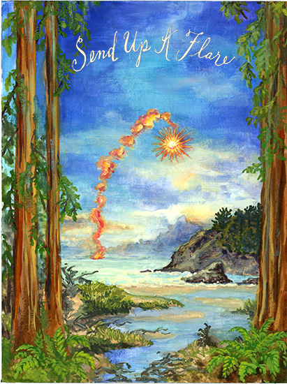 art prints - Send Up A Flare by Cleo Papanikolas