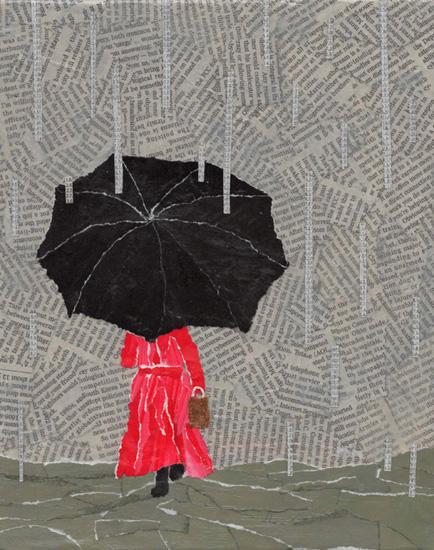 art prints - Let it Rain by Kim Dettmer