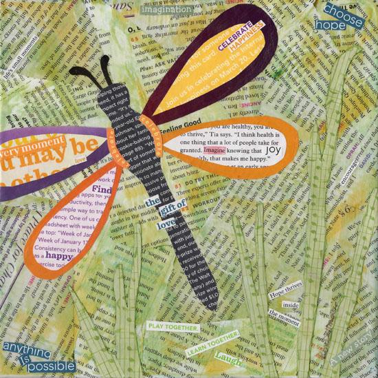 art prints - Choose Hope Dragonfly by Kim Dettmer