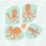 Octopus Jardin by Trish